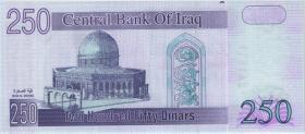 Irak / Iraq P.088 250 Dinars 2002 (1)