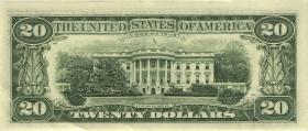 USA / United States P.501r 20 Dollar 1996 * (1/1-)