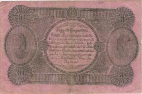 Italien / Italy P.S921c 30 Lire 1877 Oristano (3)