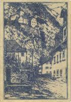 Liechtenstein P.3 50 Heller (1920) (2)