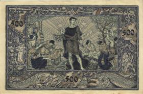 R-BAD 07b: 500 Mark 1922 (2)