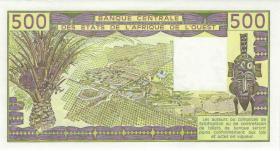 West-Afr.Staaten/West African States P.706Ki 500 Francs 1986 Senegal (1)