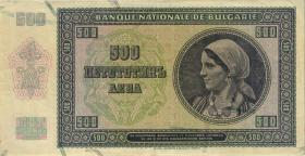Bulgarien / Bulgaria P.060a 500 Lewa 1942 (3)