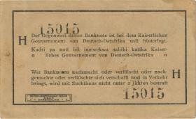 R.916a: Deutsch-Ostafrika 1 Rupie 1915 H (1-)
