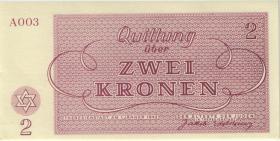 Get-9 Getto Theresienstadt 2 Kronen 1943 (1)