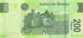 Mexiko / Mexico P.125m 200 Pesos 2008 Serie M  (1)