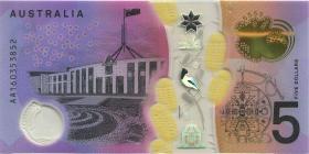 Australien / Australia P.62 5 Dollars (20)16 AA 16 Polymer (1)