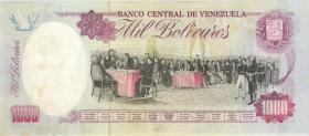 Venezuela P.073b 1000 Bolivares 30.7.1992 (2)