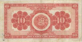 Peru P.077 10 Soles 1956 (3)