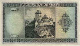Tschechoslowakei / Czechoslovakia P.065s 1000 Kronen (1945) Specimen (2)
