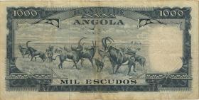 Angola P.096 1.000 Escudos 1962 (3)