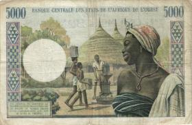 West-Afr.Staaten/West African States P.704Kl 5.000 Francs (1959-65) (4)