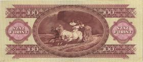 Ungarn / Hungary P.171g 100 Forint 1984 (2)
