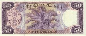 Liberia P.29b 50 Dollars 2004 (1)