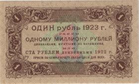 Russland / Russia P.156 1 Rubel 1923 (1)