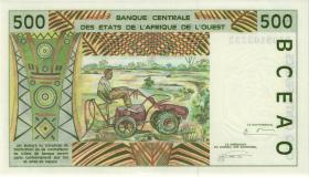 West-Afr.Staaten/West African States P.110Ad 500 Francs 1994 (1)
