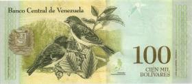Venezuela P.100e 100.000 Bolivares 13.12.2017 (1)