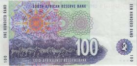 Südafrika / South Africa P.126b 100 Rand (1999) (3+)