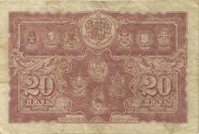 Malaya P.09a 20 Cents 1941 (3)