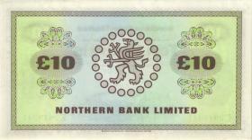 Nordirland / Northern Ireland P.189d 10 Pounds 1981 (1)
