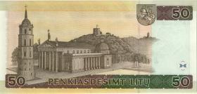Litauen / Lithuania P.67 50 Litu 2003 (1) low number