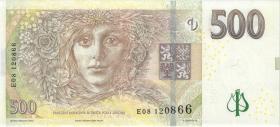 Tschechien / Czech Republic P.24a 500 Kronen 2009 E (1)