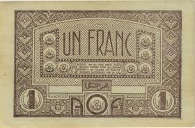 Franz. Westafrika / French West Africa P.34b 1 Franc (1944) (2)