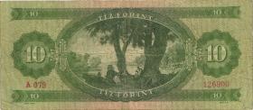Ungarn / Hungary P.168c 10 Forint 1962 (3)