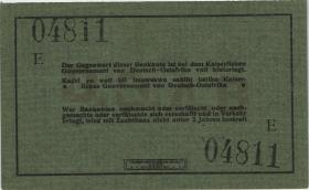 "R.921b: 5 Rupien 1915 E (1) ""Häge"""