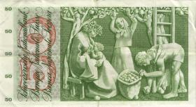 Schweiz / Switzerland P.48i 50 Franken 1969 (3)