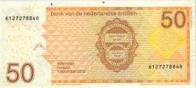 Niederl. Antillen / Netherlands Antilles P.30g 50 Gulden 2013 (1)