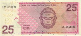 Niederl. Antillen / Netherlands Antilles P.29f 25 Gulden 2011 (1)