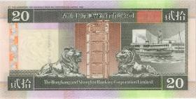 Hongkong P.201d 20 Dollars 2002 (1)