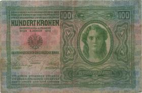 Tschechoslowakei / Czechoslovakia P.004a 100 Kronen 1919 (3)
