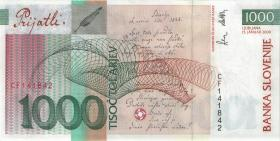 Slowenien / Slovenia P.22 1000 Tolarjew 2000 (2)
