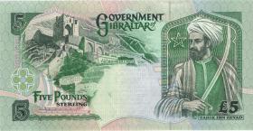 Gibraltar P.25 5 Pounds 1995 (1)