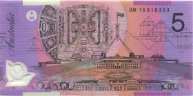 Australien / Australia P.57j 5 Dollars (20)15 Polymer (1)