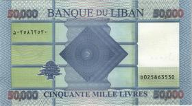 Libanon / Lebanon P.94d 50.000 Livres 2019 (1)