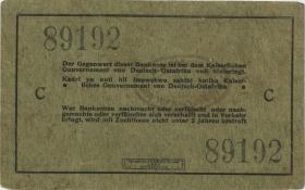 """R.910e: 5 Rupien 1915 C (3) """"Seidenschwarz"""""""
