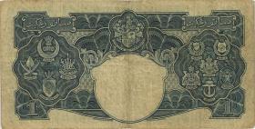 Malaya P.11 1 Dollar 1941 (3-)