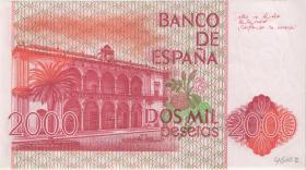 Spanien / Spain P.159 2000 Pesetas 1980 (1)