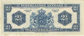 Niederl. Antillen / Netherlands Antilles P.A1b 2 1/2 Gulden 1964 (3)