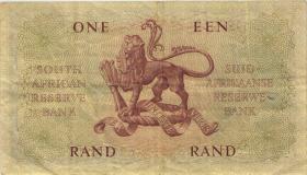 Südafrika / South Africa P.102a 1 Rand (1961) (3)