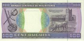 Mauretanien / Mauritania P.04e 100 Ouguiya 1992 (1)