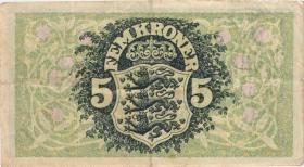 Dänemark / Denmark P.30k 5 Kroner 1943 K (3)