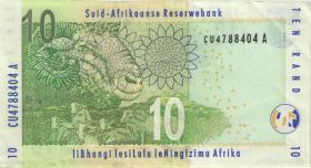 Südafrika / South Africa P.128a 10 Rand (2005) (3)