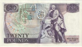 Großbritannien / Great Britain P.380c 20 Pounds (1981-84) (2+)