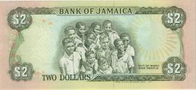 Jamaika / Jamaica P.69d 2 Dollars 1990 (1)