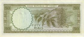 Jemen / Yemen arabische Rep. P.10 50 Rials (1971) (2)