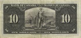 Canada P.061c 10 Dollars 1937 (3)